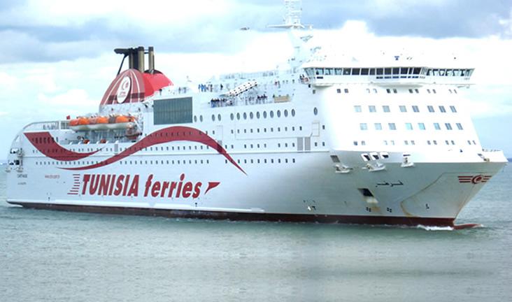 billet bateau tunisie avec voiture